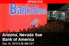 Arizona Sues Bank of America
