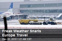 Freak Weather Snarls Europe Travel