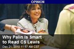 Why Palin Is Smart to Read CS Lewis