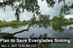 Plan to Save Everglades Sinking