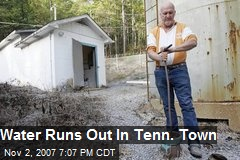 Water Runs Out In Tenn. Town