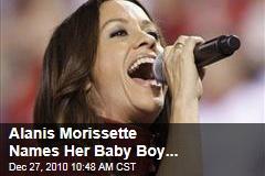 Alanis Morissette Names Her Baby Boy...