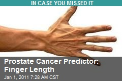 Prostate Cancer Predictor: Finger Length