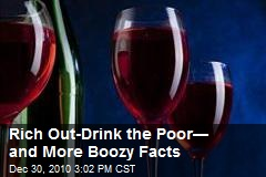 Rich Out-Drink the Poor— and Other Alcoholic Facts
