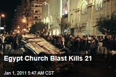 Egypt Church Blast Kills 21