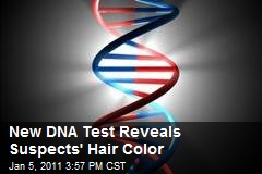 New DNA Test Reveals Suspects' Hair Color