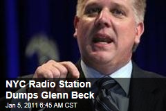 Glenn Beck Dumped by NYC Radio Station Over Ratings