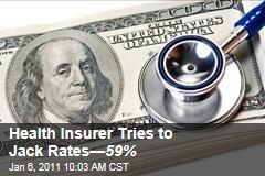 Blue Shield Tries to Jack Health Insurance— 59%