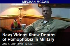 Navy Videos Show Depths of Homophobia in Military