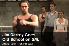 Jim Carrey Goes Old School on SNL