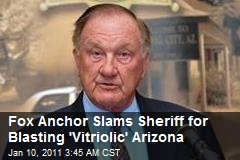 Fox's Kelly Slams Sheriff for Blasting 'Vitriolic' Arizona
