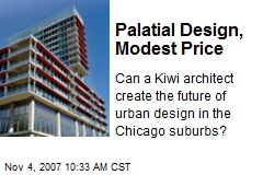 Palatial Design, Modest Price