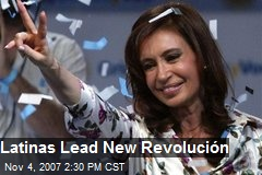 Latinas Lead New Revolución