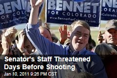 Man arrested for threats against Sen. Bennet staff