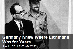 Germany Knew Adolf Eichmann's Locale Years Before Capture