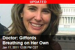 Doctor: Giffords Breathing on Her Own