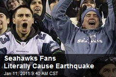 Seahawks Fans Literally Cause Earthquake