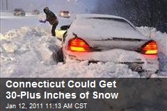 Connecticut Could Get 30-Plus Inches of Snow