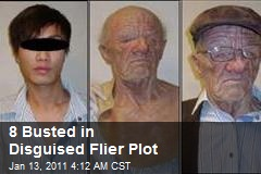 8 Busted In Disguised Flyer Plot