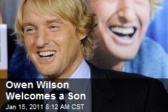 Owen Wilson Welcomes a Son