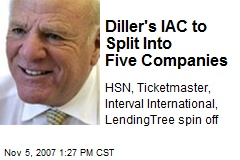 Diller's IAC to Split Into Five Companies
