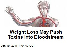 Weight Loss May Unleash Bloodstream Toxins