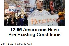 129M Americans Have Pre-Existing Conditions