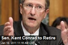 Sen. Kent Conrad to Retire