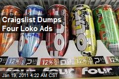Craigslist Dumps Four Loko Ads