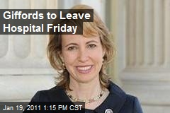 Giffords to Leave Hospital Friday