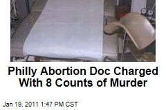 Philly Abortion Doc Charged With 8 Counts of Murder