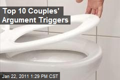 Top 10 Couples' Argument Triggers