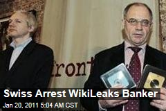 'WikiLeaks Banker' Rudolf Elmer Arrested in Switzerland