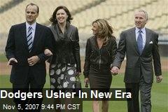 Dodgers Usher In New Era