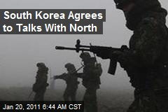 South Korea Agrees to Talks With North
