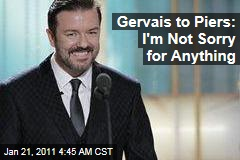 Ricky Gervais: I'm Not Sorry for Anything