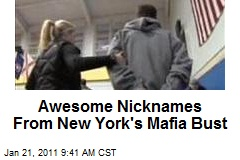 Awesome Nicknames From New York's Mafia Bust