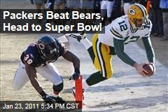 Packers Beat Bears, Head to Super Bowl