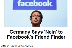 Germany Says 'Nein' to Privacy-Buster Facebook App
