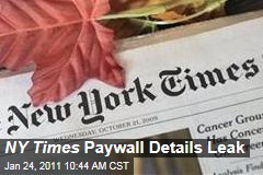 NY Times Gets Ready to Launch Paywall