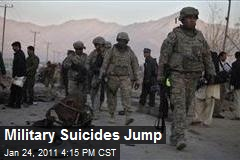 Troops Suicides Increase