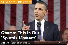 Obama: This Is Our 'Sputnik Moment'