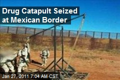 Drug Catapult Seized at Mexican Border
