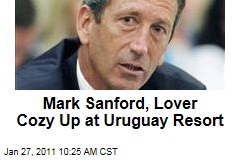 Mark Sanford, Maria Belen Chapur Spotted Frolicking at Uruguay Resort Where They First Met