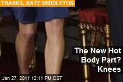 The New Hot Body Part? Knees