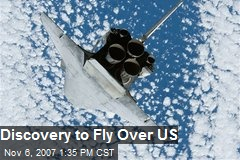 Discovery to Fly Over US