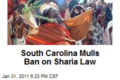 South Carolina Mulls Ban on Sharia Law