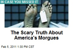 The Scary Truth About America's Morgues