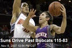 Suns Drive Past Bobcats 115-83