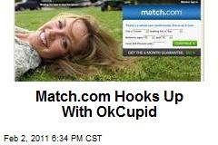 Match.com Hooks Up With OkCupid